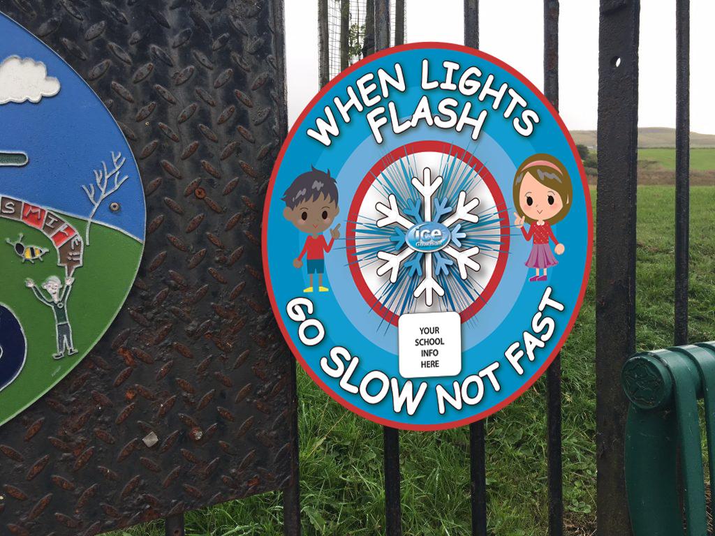 Ice Guardian Playground Sign